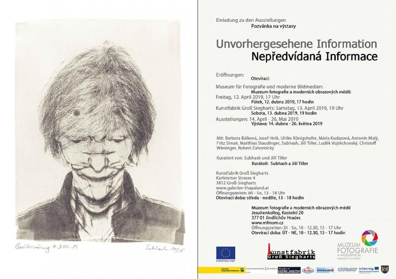 """""""Unvorhergesehene Information/Nepředvídaná informace""""– Einladung"""
